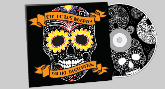 Dia De Los Muertos Social Distortion CD